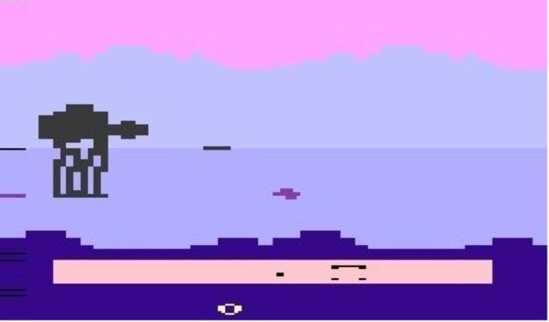 Empire Strikes Back Atari 2600