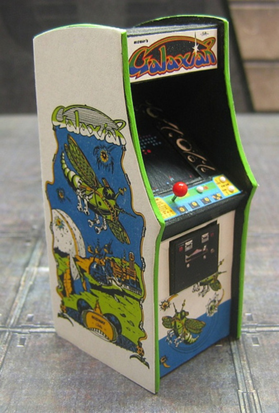 Justin Whitlock's Galaxian Cabinet