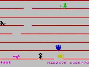 Jumping Jack - ZX Spectrum Screenshot