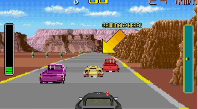 Chase HQ Arcade Game by Taito