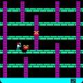 Space Panic Arcade Screen