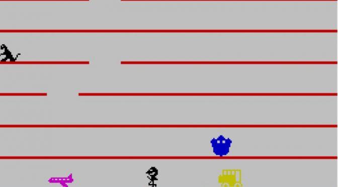 Jumping Jack ZX Spectrum