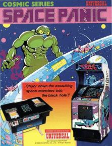 space panic arcade flyer