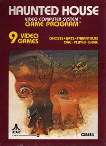 Haunted House Atari 2600 Box Art