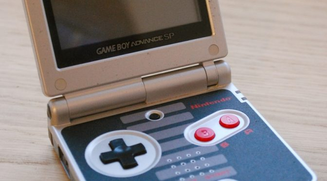 Gameboy Advance SP NES Edition – Video Game Consoles as Art