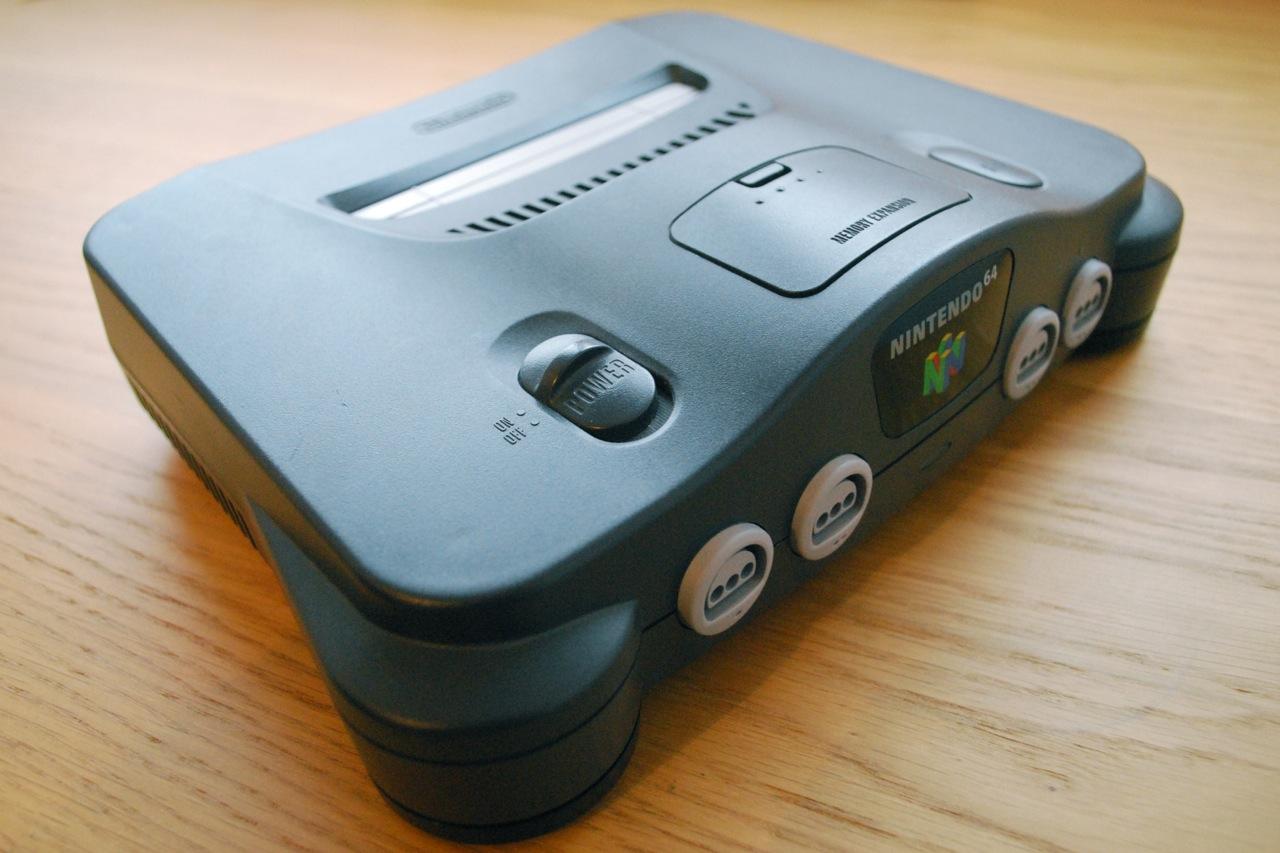 The nintendo 64 console as art retrogamesnow - Super nintendo 64 console ...