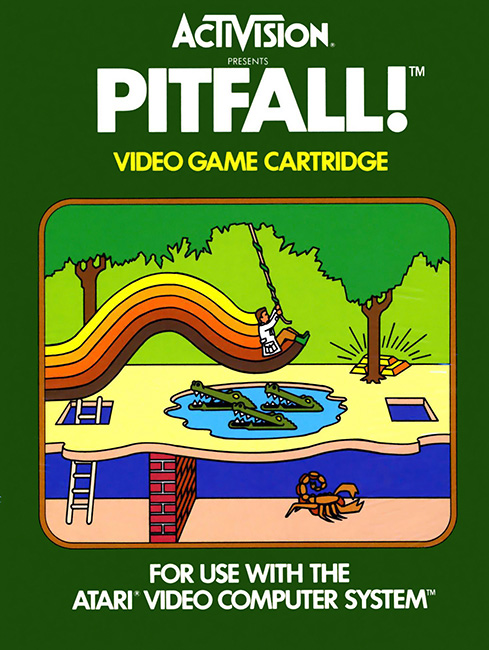 Atari 2600 PitfallBox Art