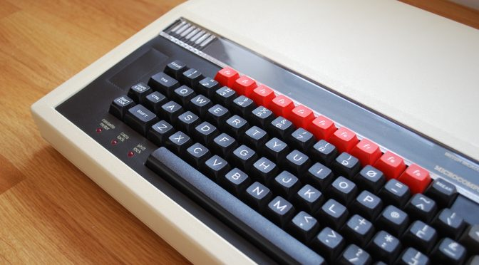 My BBC Micro Model B Restoration Project