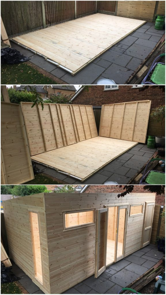 Arcade Shed Build