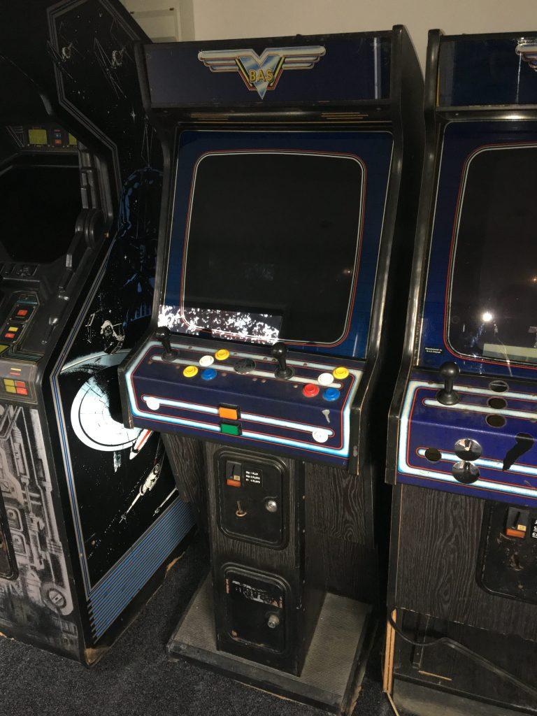 BAS Arcade Cabinet Awaiting Restore