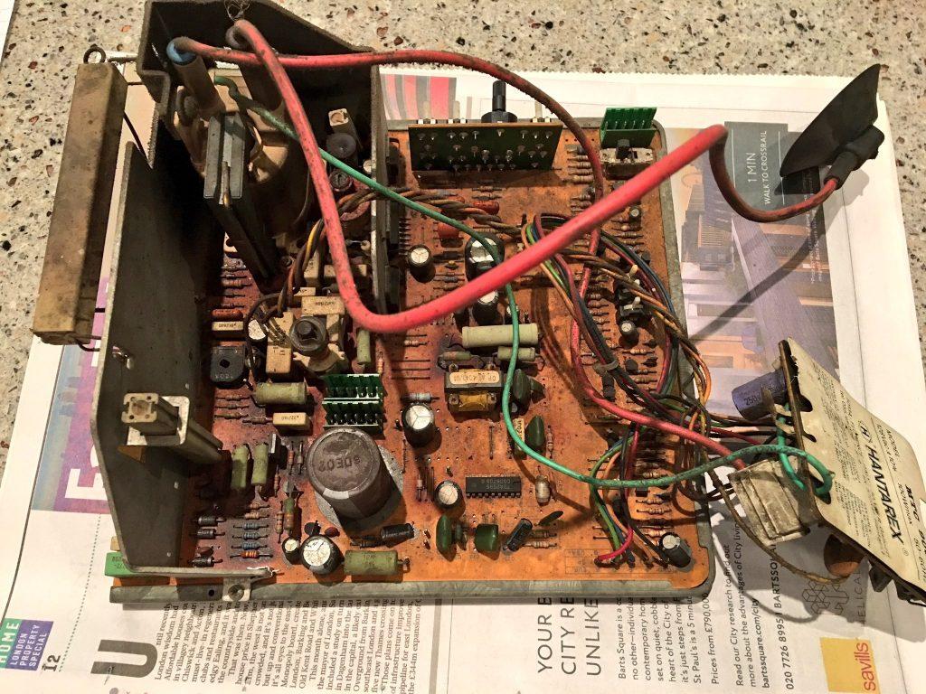 Hantarex monitor chassis
